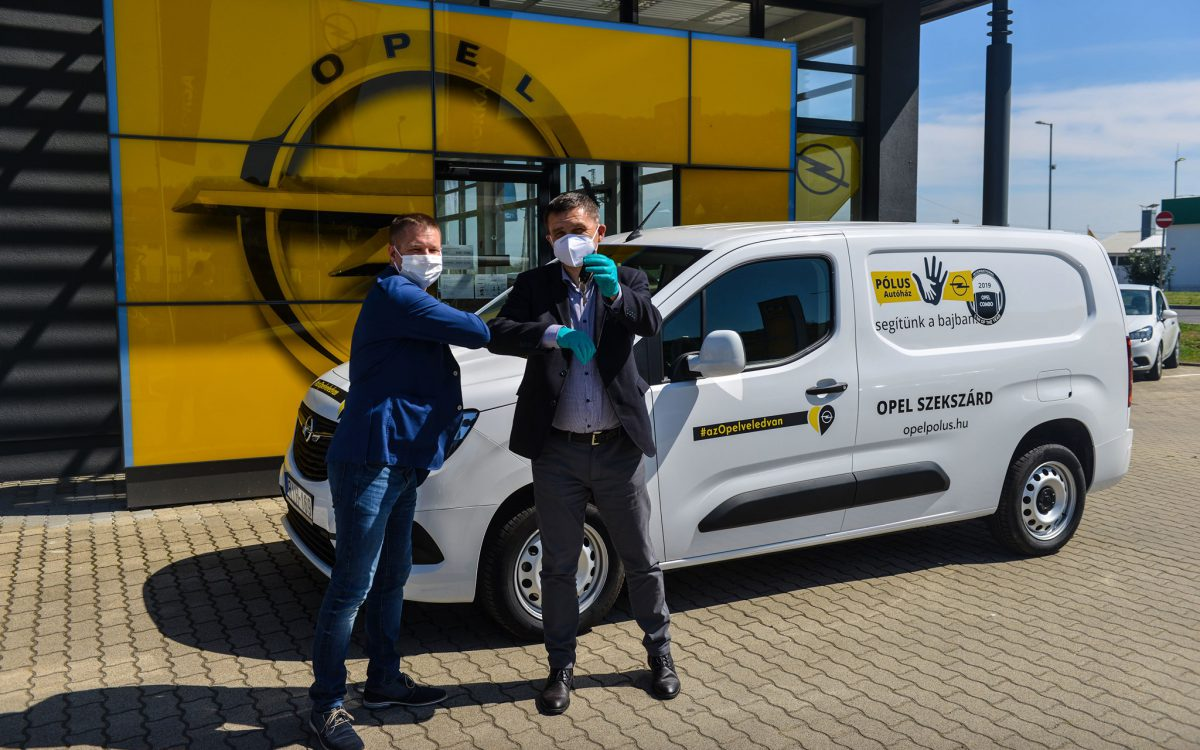 Felajánlásként Opelt kapott az önkormányzat